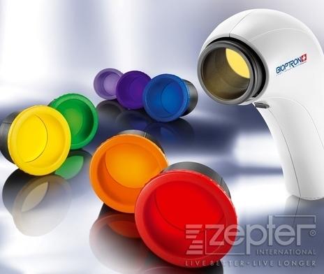 Léčivé světlo BIOPTRON a barevná terapie