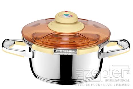 Zdravé a rychlé vaření s tlakovou poklicí Syncro-Clik®