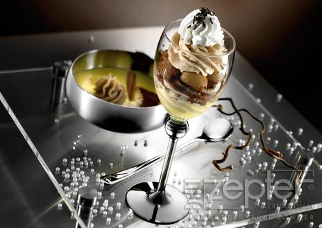 Monte Bianco (dezert z jedlých kaštanů)