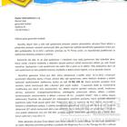Děkovný dopis OS život dětem