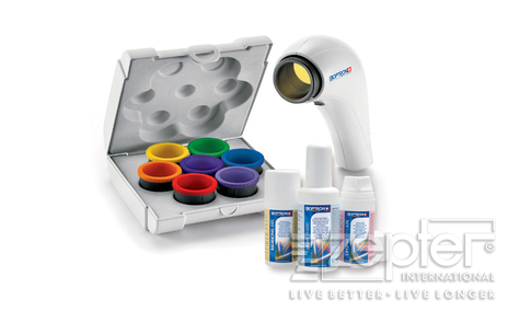 Bioptron Compact III + barevná terapie