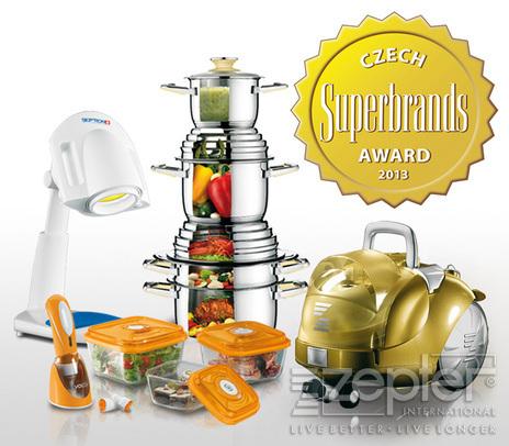Zepter Superbrands Award 2013