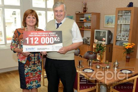Jitka Franzová a Luděk Vinohradník