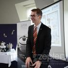 Michal Jílek na tiskové konferenci Zepter Home Art