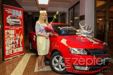Kateřina Kosprdová, výherkyně VMH 2013
