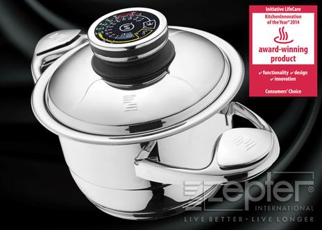 Nová generace nádobí Zepter SmartLine