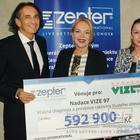 Philip Zepter, Dagmar Havlová, Diana Zepter