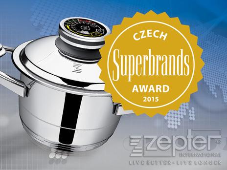 Czech Superbrands 2015 pro Zepter International