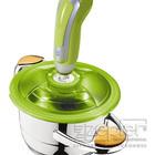 VacSy zelené - pumpa s Lexi poklicí na nádobě Zepter