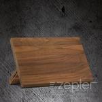Magnetický stojan na nože - ořechové dřevo