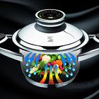 Obrázek #2, Díky Zepter vaření zůstávájí v jídle vitamíny, minerály a navíc ušetříte čas.