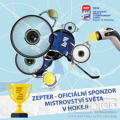 Zepter - partner mistrovství světa v ledním hokeji