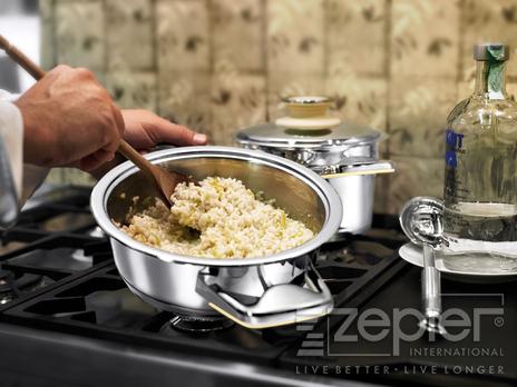Rýže s vodkou a citronem