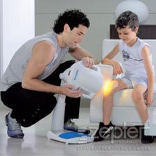 Biolampa Zepter příznivě pomáhá u onemocnění kosterní a svalové soustavy u dětí
